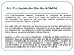 art 5 liquidaci n dto no 4 344 04