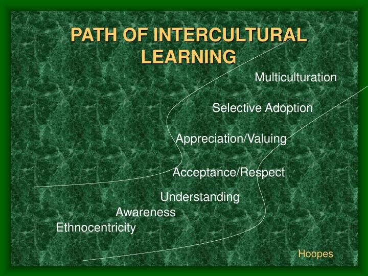 PATH OF INTERCULTURAL LEARNING