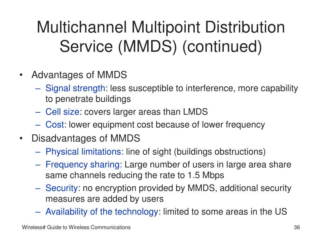 Multichannel Multipoint Distribution Service