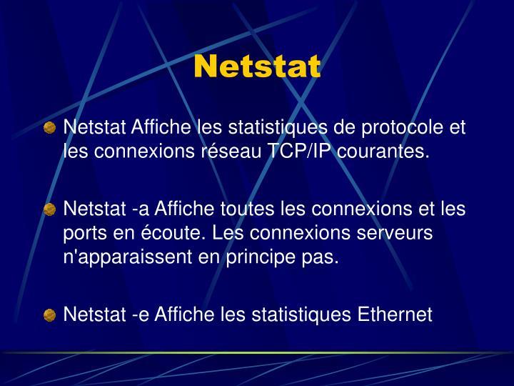 Netstat