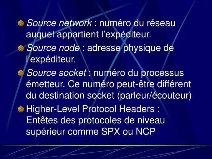 Source network