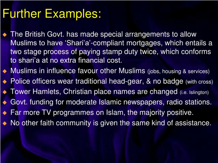 The British Govt. has made special arrangements to allow Muslims to have 'Shari'a'-compliant mortgages, which entails a two stage process of paying stamp duty twice, which conforms to shari'a at no extra financial cost.