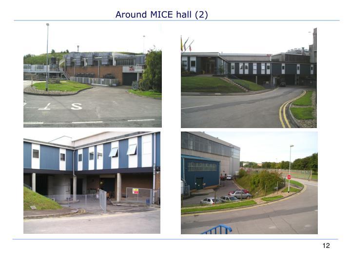 Around MICE hall (2)