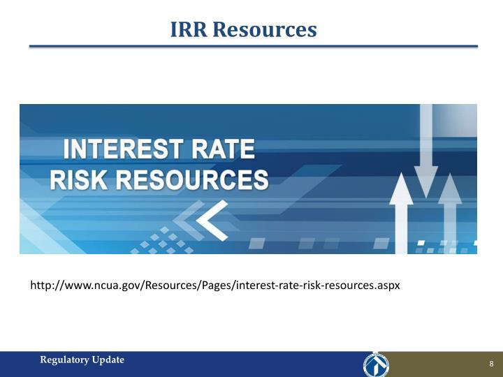 IRR Resources