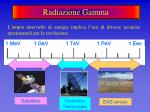 radiazione gamma