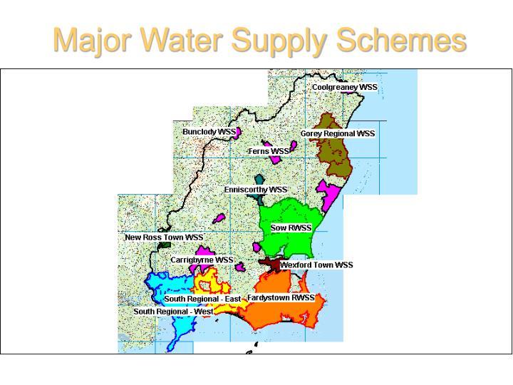 Major Water Supply Schemes