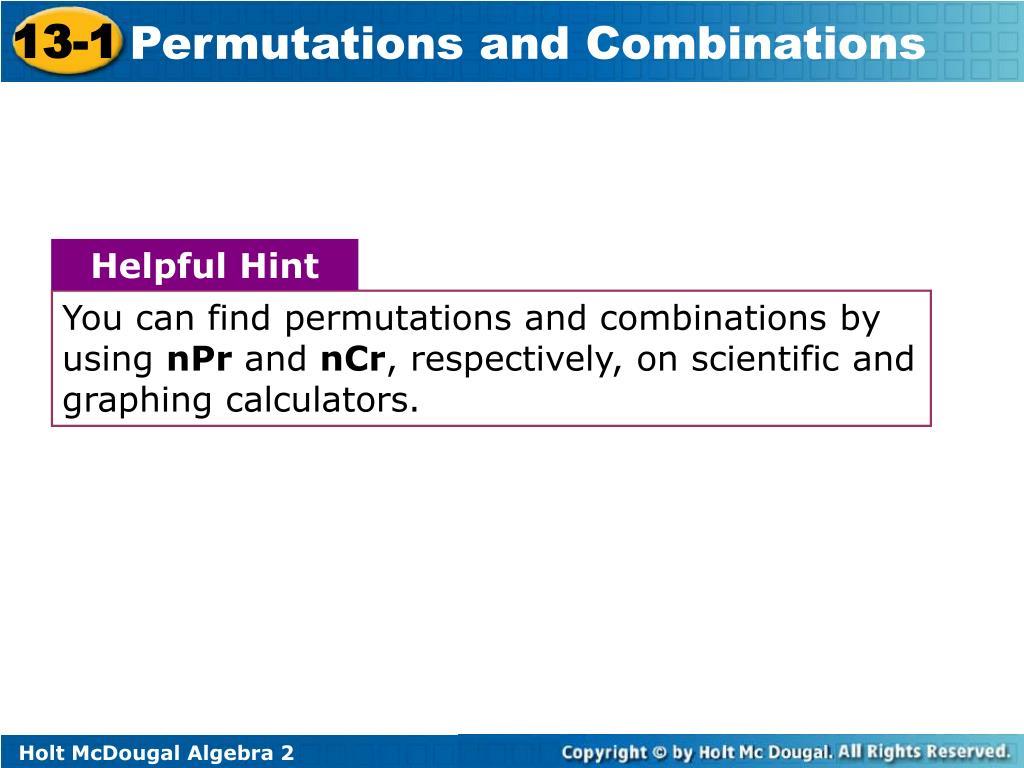 PPT - 13-1 PowerPoint Presentation - ID:5931365
