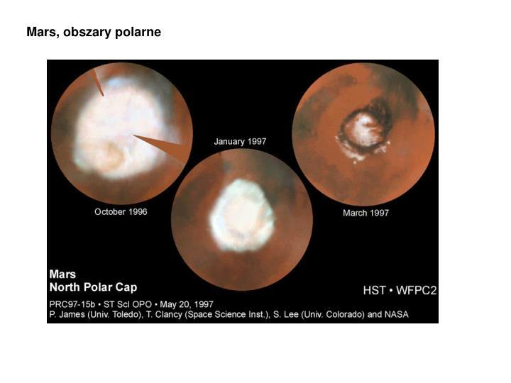 Mars, obszary polarne