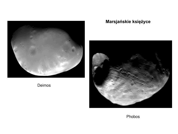 Marsjańskie księżyce