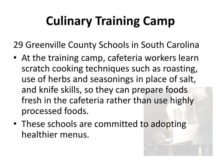 Culinary Training Camp