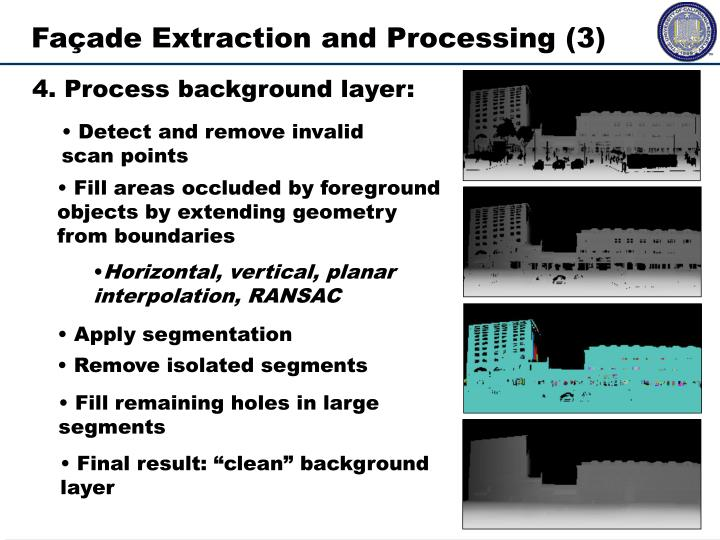 Façade Extraction and Processing (3)
