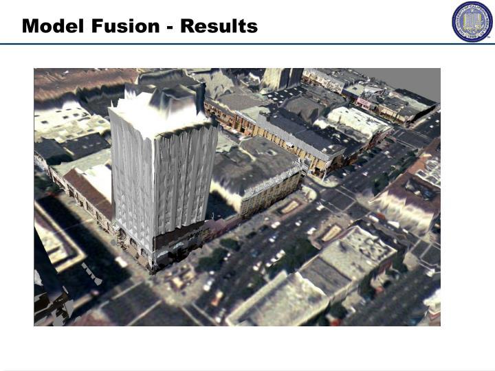 Model Fusion - Results