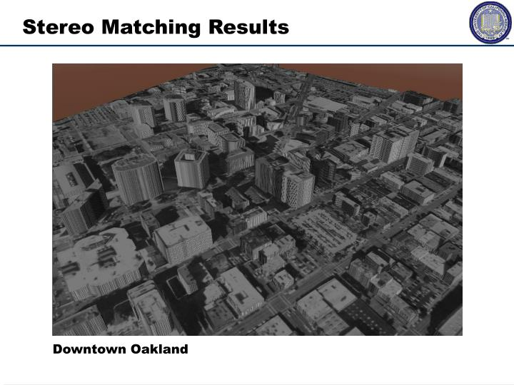 Stereo Matching Results
