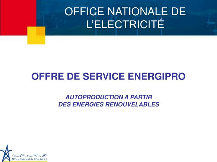 Office nationale de l electricit