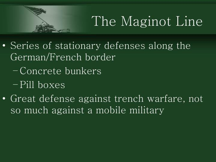 The Maginot Line