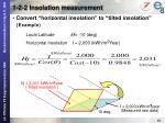 1 2 2 insolation measurement8