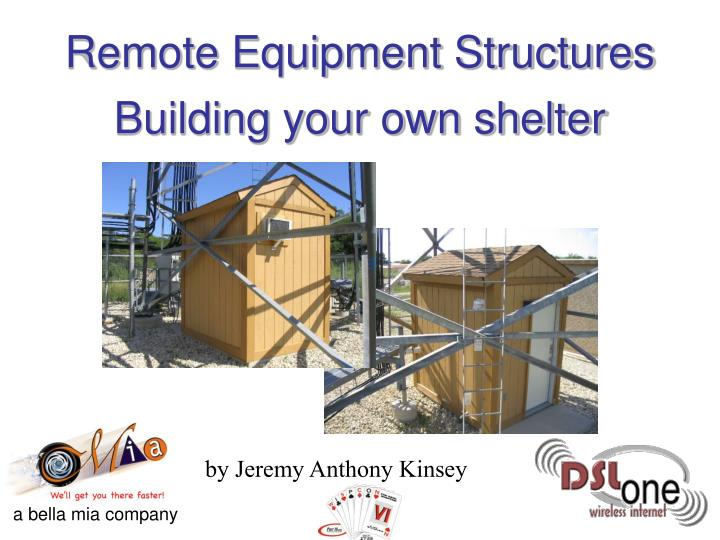 building your own shelter n.