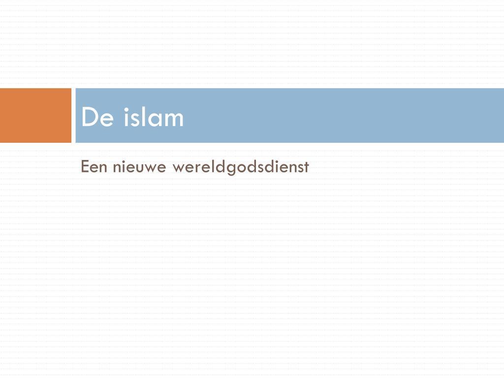 PPT - De wereld van de islam PowerPoint Presentation - ID