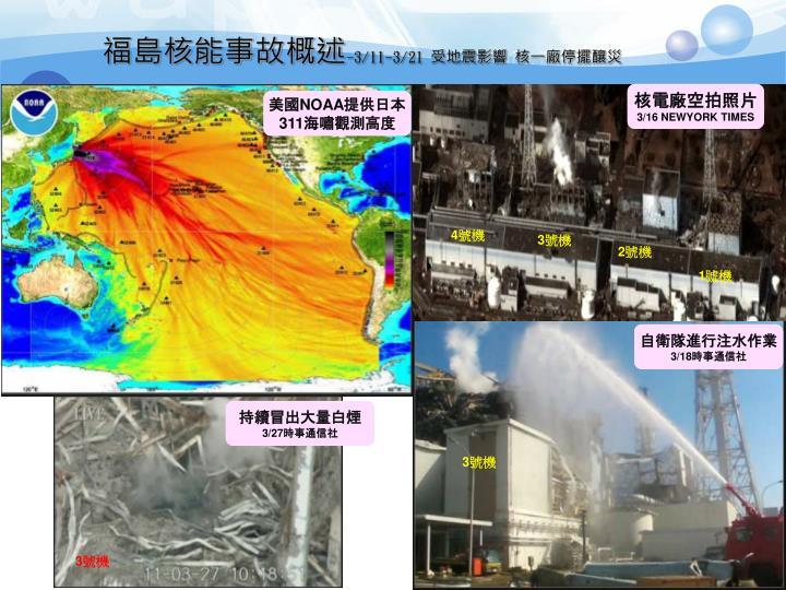 福島核能事故概述