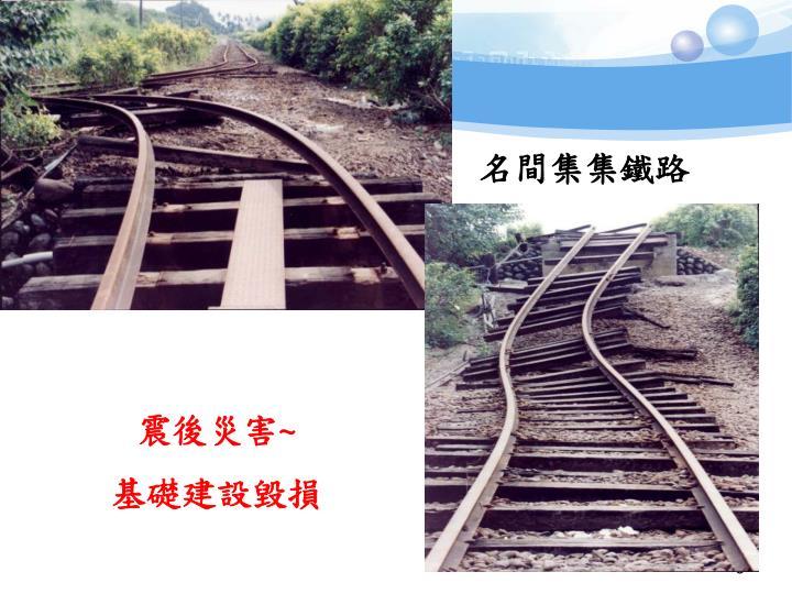 名間集集鐵路