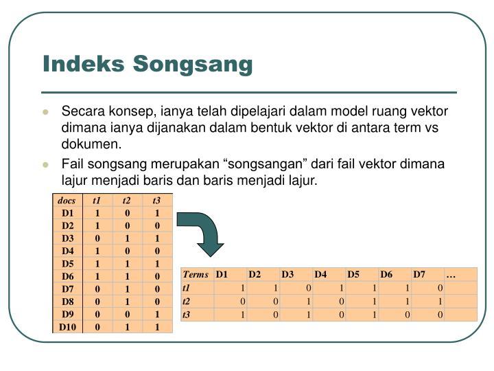 Indeks Songsang