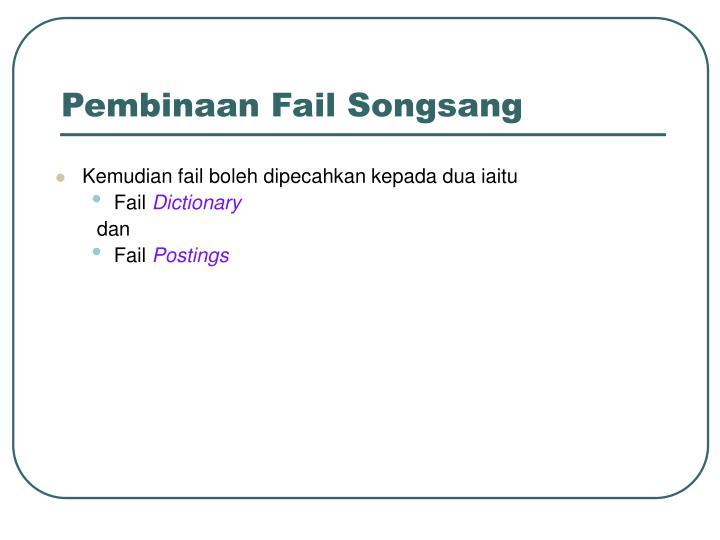 Pembinaan Fail Songsang