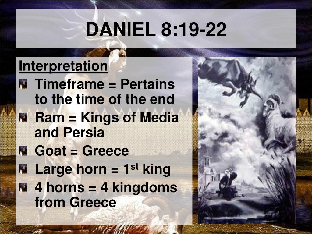 PPT - DANIEL 8 PowerPoint Presentation - ID:5932962