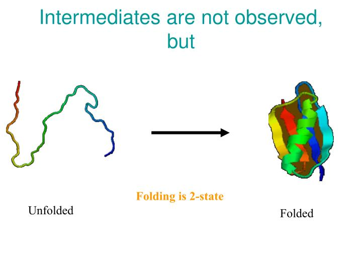 Intermediates are not observed, but
