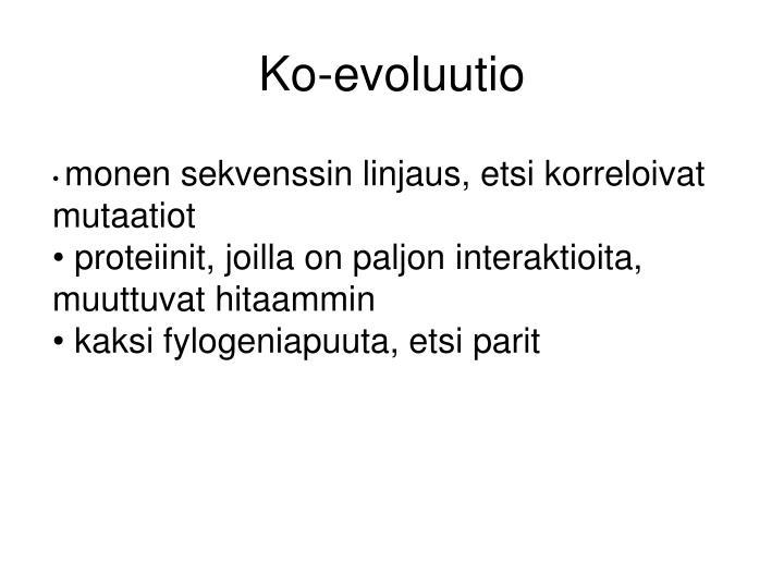 Ko-evoluutio