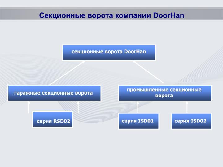 Секционные ворота компании DoorHan