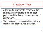 8 1 decision trees