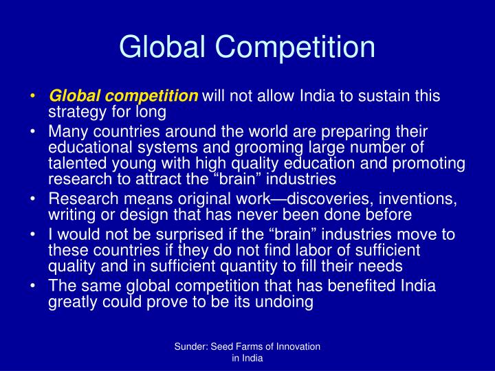 Global Competition