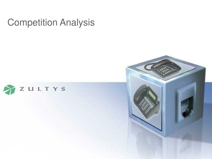 competition analysis n.