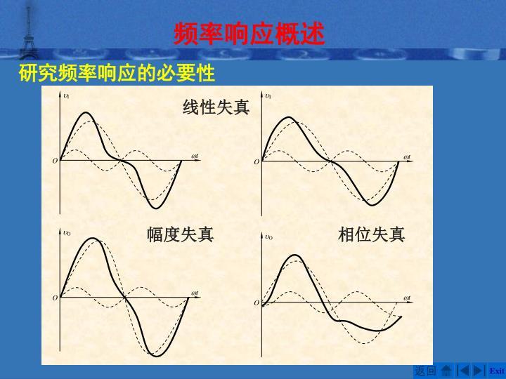 频率响应概述
