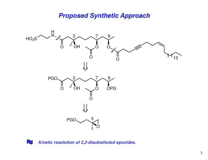 Proposed Synthetic Approach