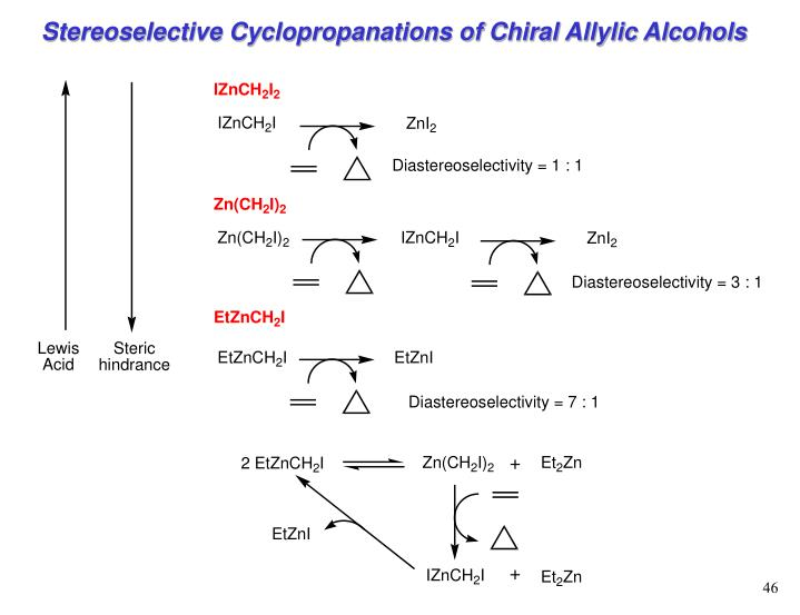 Stereoselective Cyclopropanations of Chiral Allylic Alcohols