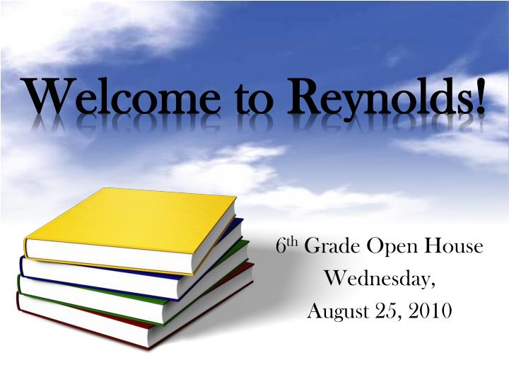 welcome to reynolds n.