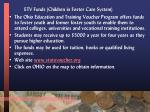 etv funds children in foster care system