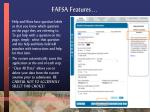 fafsa features