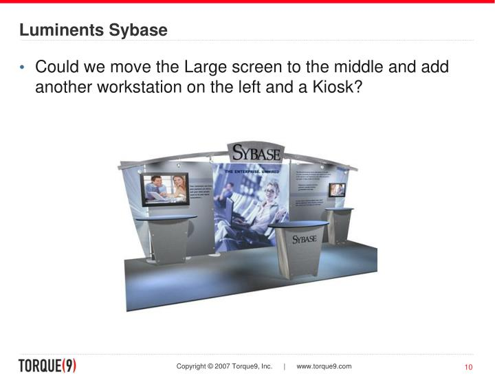 Luminents Sybase