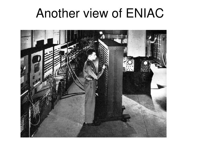 Another view of ENIAC