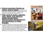 karma samsara and moksha