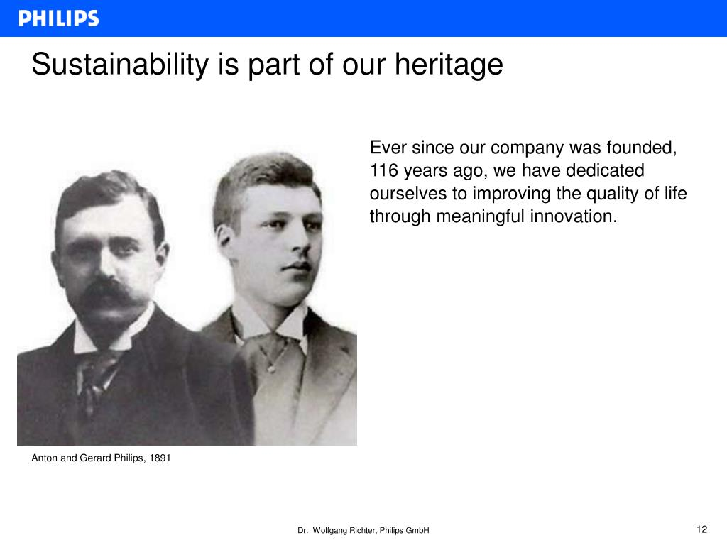 PPT - Philips Corporate Strategy in Response to Climate