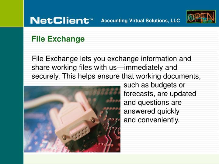 File Exchange