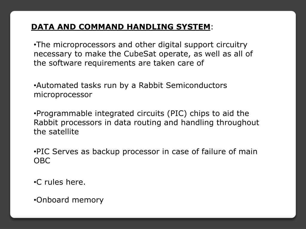 PPT - Cubesats PowerPoint Presentation - ID:5936907