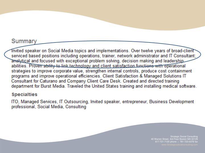 Strategic Social Consulting