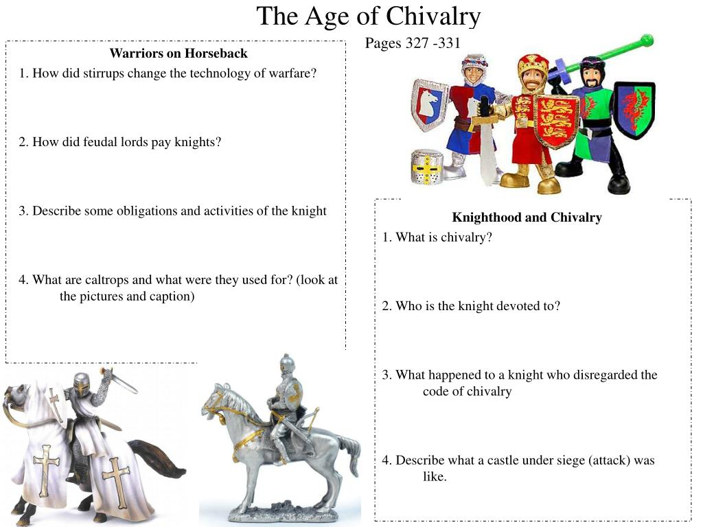 The Age Of Chivalry PowerPoint Presentation