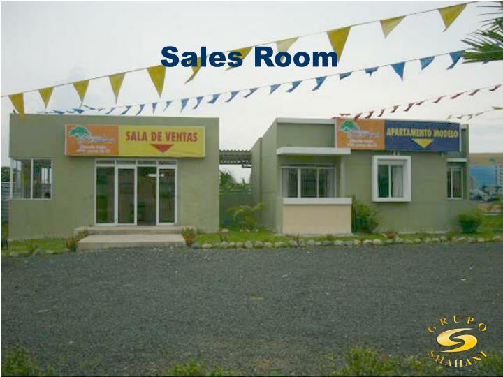 Sales Room