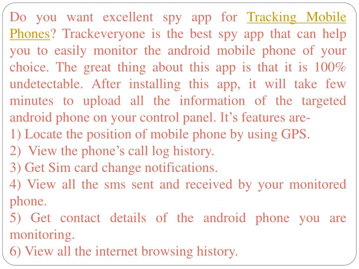 Do you want excellent spy app for