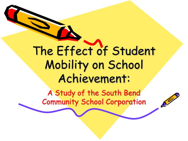 the effect of student mobility on school achievement n.